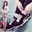 2017 new female Korean version of the wild casual shoes running students flat shoes shoes