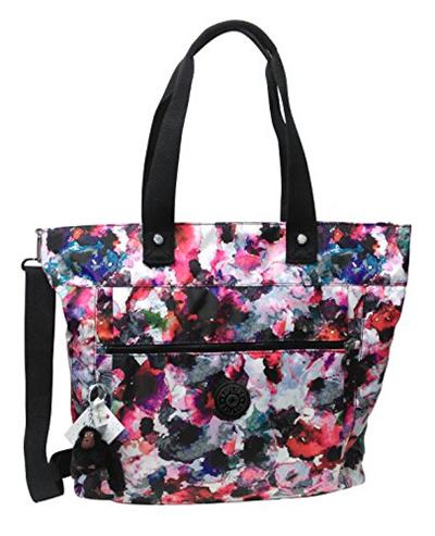 3aa27b0a349 Qoo10 - Kipling Lizzie Solid Travel Laptop Tote Shoulder Bag : Bag ...