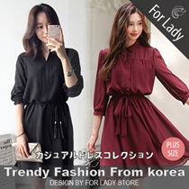 23rd Mar Update New Arrivals ♥Korean Style♥ Linen / Casual Dress / LOOSE Fit  / Basic / Plus size