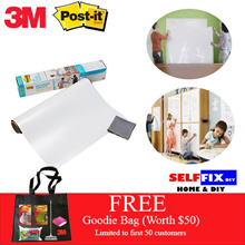 【3M】Post it Dry Erase Surface - Your Instant Flexible Whiteboard Solultion