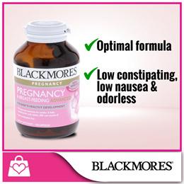 Blackmores Pregnancy and Breastfeeding Advanced 120caps