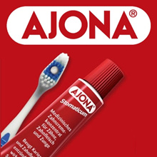 Ayo Na Azona toothpaste 25ml 5 AJONA free shipping Foreign tooth whitening healthy teeth odor removal