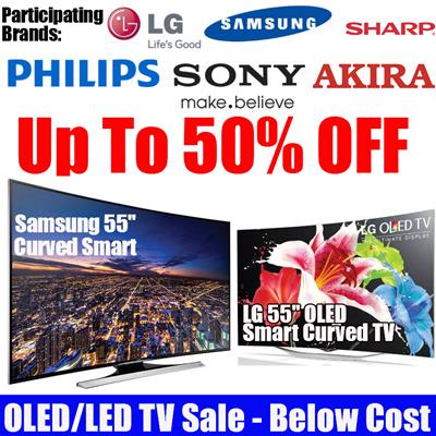 SAMSUNGLG 55 Inch OLED TV   Samsung 55 Inch LED TV   Sharp 50 Inch LED TV    Akira 55 Inch UHD LED TV  