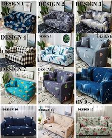★Free 1 Pillowcase★2018 DESIGN★SG SELLER★Universal Spandex Sofa Cover Cushion Pillow Cover
