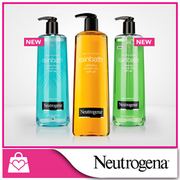 [NEUTROGENA] Rainbath Refreshing/Ocean Mist/Green Tea Shower Gel 473ml+473ml