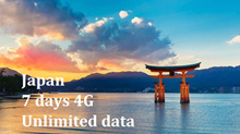[7 DAYS Japan SIM Card] 4G LTE + Unlimited Data + Free SIM adapter