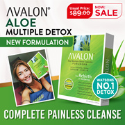 NEW N IMPROVED [PAINLESS DETOX] RESULTS IN 8 HRS | Aloe Multi Detox with 3B Probiotics |