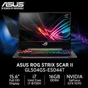 ASUS ROG Strix SCAR II GL504GS-ES044T/15.6/Intel® Core™ i7-8750H / PCIE NVME 512G / 2 Years Warranty