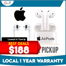Apple Airpods / Local Set / 1 year warranty / Bluetooth earphones