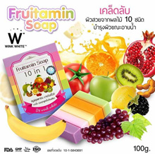 Wink White Fruitamin 10 in 1 Soap