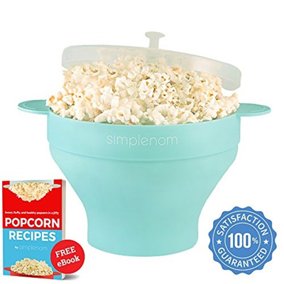 Buy Louis will Poptop Popcorn Popper Maker Silicone Healthy NoOil Source · COUPON Microwave Popcorn Popper