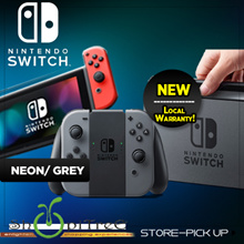 Nintendo Switch Standalone. Grey or Neon Blue Red. Local Stocks and Warranty!