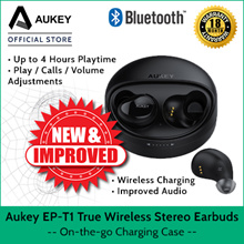 [EP-T1] AUKEY True Wireless Stereo Earbuds NOW WITH WIRELESS CHARGING CASE