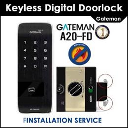Gateman DoorLock / Digital Doorlock / Smart Doorlock / A20-CH / Installation Services