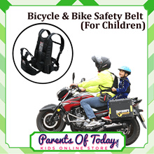 Kids Bicycle / Motorbike Child Safety Belt – Motorcycle  Bike Accessories