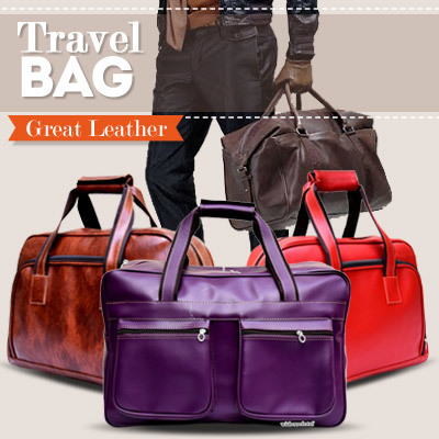 Tas Travel Besar Kulit Best Product Deals for only Rp110.000 instead of Rp110.000