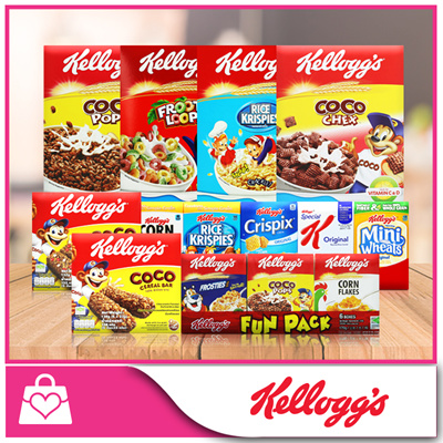 Qoo10 Kellogg S Froot Loops Rice Krispies Coco Chex Coco Pops