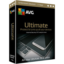 AVG Ultimate for unlimited devices 2018 for 1 year or 2 year - activation code license