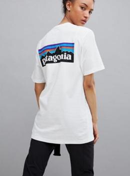 PATAGONIA P-6 Logo Short Sleeve T-Shirt
