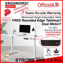 Height Adjustable TABLE M60 Pro 3.0 / STUDY TABLE / OFFICE DESK / Standing DESK / Motorised TABLE