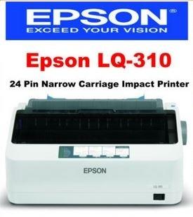 Qoo10 Epson Lq310 Lq 310 24pins Dot Matrix Printer C11cc25301 1 Year Carry I Computer Game