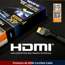 ★Elecom Japan★Premium HDMI CERTIFIED Cable/1m/2m/3m/5m UHD TV 4k PS3 PS4 Wii Xbox