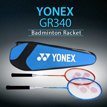 Yonex LCH store Korean Best-Selling Badminton 2 x GR340 Rackets + a Full Cover Case