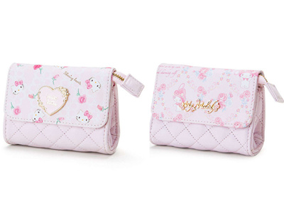 7874ce89c947 cute my melody hello kitty cat pink pu leather mini small short clutch wallets  purses womens