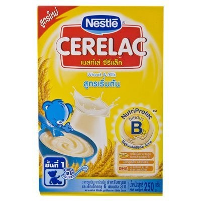 [USA Shipping] Nestle Cerelac Baby Food Wheat & Milk 250g