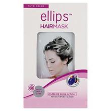 [ Halal Certification ] Ellips Hair Mask Nutri Color 4 x 20g
