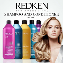 POPULAR IN SALON! REDKEN 1000ML SHAMPOO / CONDITIONER BESTSELLING PREMIUM HAIR CARE