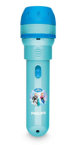 Philips Disney Frozen Childrens Projector Torch  Night Light Integrated LED