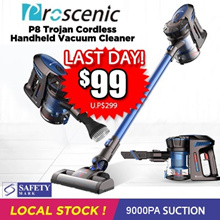 [Introductory Offer] Proscenic P8 Trojan Cordless Handheld Vacuum Cleaner *PROMO*