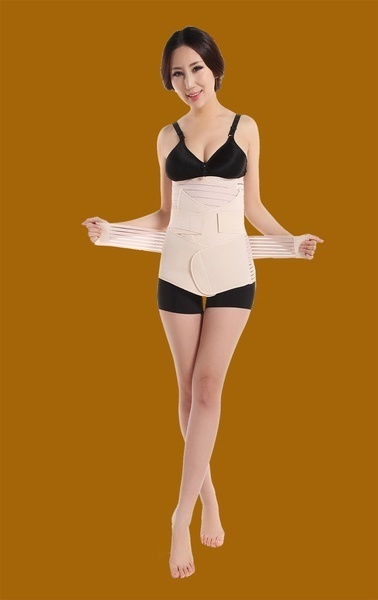 9e5a8a6dba6 Postpartum After Pregnancy Post Natal Slimming Re-Shaping Belly Belt Band  Wrap+Stomach Gastric