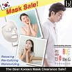 [BEST] KOREAN MASKS Clearance Sale! Lowest Prices Guarenteed! / masker skin care
