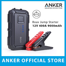 Roav By Anker Car Jump Starter 800A Peak 12V 9000mAh Up To 2.8L Engines Portable Charger Powerbank