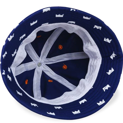 8a2a0e51bc9 authentic Retail Wholesale Unisex Baby Bucket Hats Children Little Crown  Printing Denim Fisherman Ca