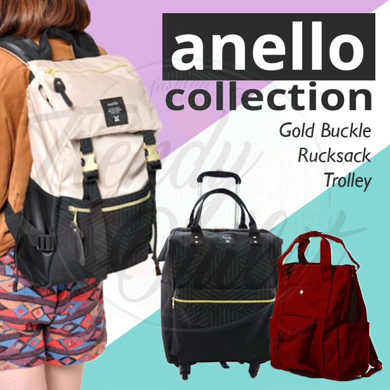 3b8d44542cb Qoo10 -    NEW   Anello Collection 2018 WOMEN BACKPACK💕 luggage ...