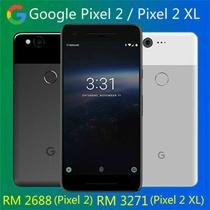 RM 2688 (Google Pixel 2) RM 3271 (Google Pixel 2 XL) ( RM 400 coupon discount ) Google Pixel 2 / Pixel 2XL