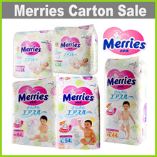 [MERRIES] Carton Sales ★ Tape NB/S/M/L/XL Walker L/XL/XXL★ MADE IN JAPAN ☆