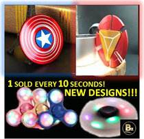 ✪[Fidget Spinners!]✪ Heroes || LED || Camo || Many Varieties! || Let it Spin and Relieve Stress Now!