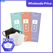 [KF94] WeCare KF94 Mask 5ea (large white, black, small)