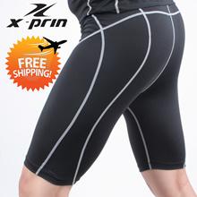 XPRIN (400 Series - Short Pants)compression skin wear tight gear base layer running sports wear Golf inner wear jersey