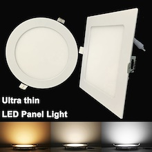 ★ (SG Stock)★LED3W 6W 9W 12W 15W 18W 25W LED Recessed Ceiling Flat Panel Li