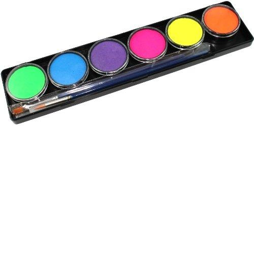 Qoo10 Tag Body Art Body Body Paint Direct From Usa Tag Face Paint 6 Color Cosmetics