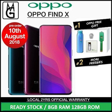 Telco Set Oppo FIND X 8GB RAM 128GB ROM Local 2 Years Warranty By Oppo Singapore