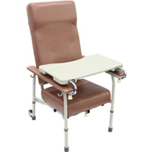 Geriatric Chair - Non Reclining Height Adjustable