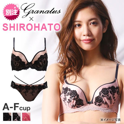 240ded27798 Qoo10 - Granatus x Shirohato Amour Rose Bra and Panty Set Sizes (B-F ...