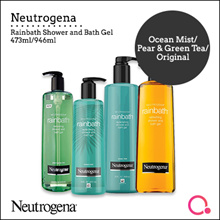 [JnJ]【Official reseller】Neutrogena Rainbath bath gel 473ml /946ml | Stocks from Singapore