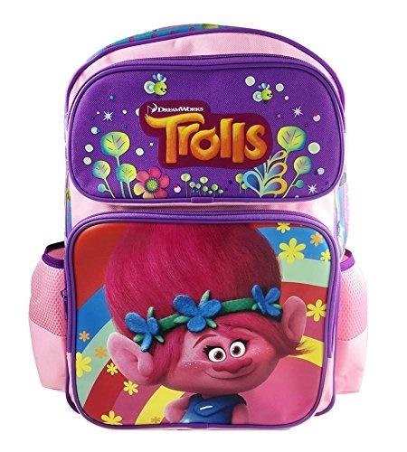 """Dreamworks Trolls Poppy Backpack Full Size 16/"""""""